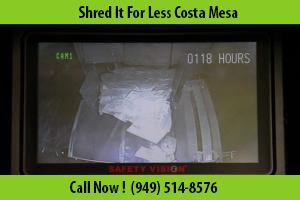 Document Destruction Costa Mesa, CA - (949) 514-8576